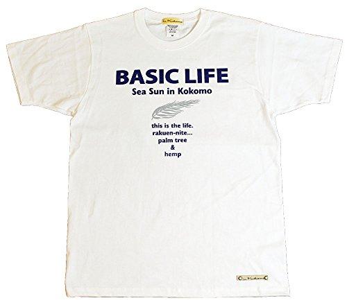 難民便益重さBasic ヤシ メンズTシャツ in Kokomo mt036