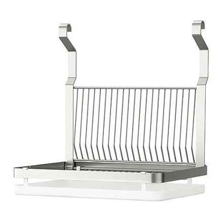 Ikea Grundtal - Griglia portaspugna per lavabo cucina, con ganci ...