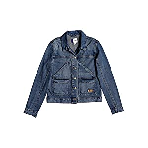 Ladies's Cotton Denim Jacket Medium Wash