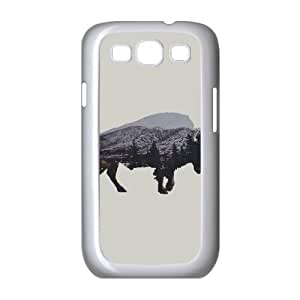 Samsung Galaxy S3 9300 Cell Phone Case White The American Bison LAJ7131069
