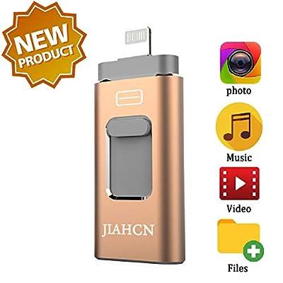 JIAHCN USB Flash Drive for iPhone iFlash USB Drive for iPhone The Photo Stick for iPhone iPad by JIAHCN