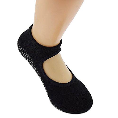Tamlltide 1 par de calcetines de yoga para hombre y mujer ...