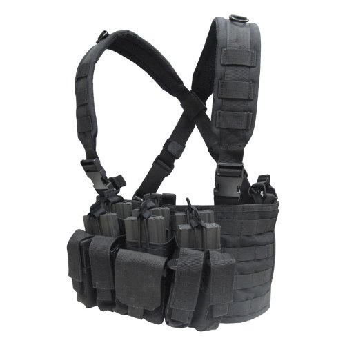 Condor Recon Chest Rig (Black) (Condor Modular Chest Rig compare prices)