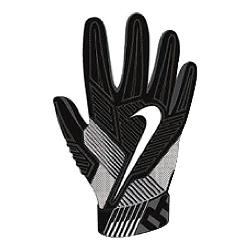 Nike Mens D-Tack 5 Padded Football Gloves Black/White GF0385 010 Size Large