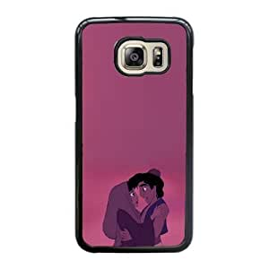Grouden R Create and Design Phone Case,Aladdin and Jasmine Cell Phone Case for Samsung Galaxy S6 Edge Black + 1*Touch Stylus Pen (Free) GHL-2867390