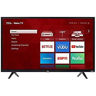 "TCL 32"" Class HD (720P) Roku Smart LED TV (32S321) (Renewed)"