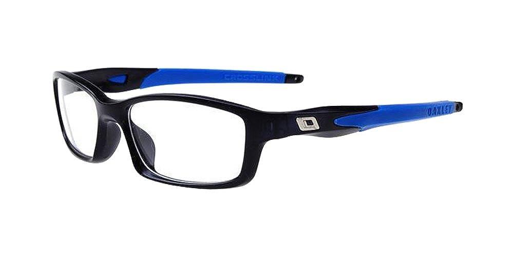 Blue Comfortable Mens Multicolored Soft Silicone Frame Eyewear Flexible Plain Glasses