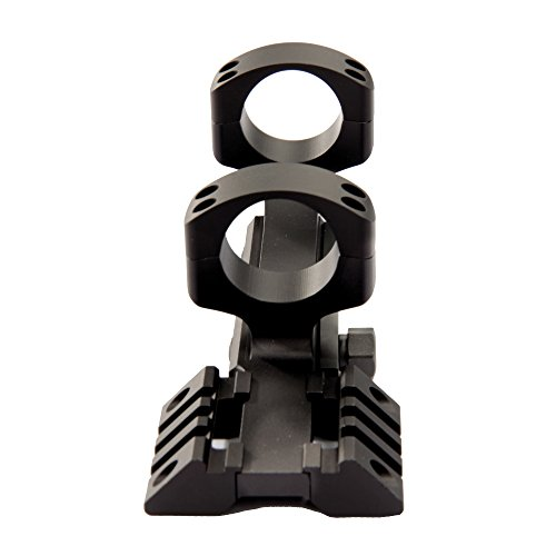 Warne Scope Mounts Tact Ramp Pltfrm 30mm Matte by Warne Scope Mounts