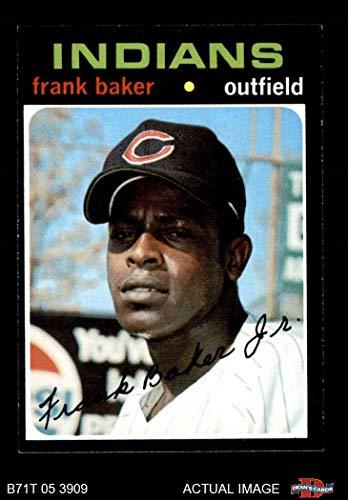 1971 Topps # 689 Frank Baker Cleveland Indians (Baseball Card) Dean's Cards 5 - EX -
