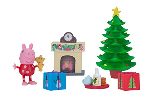 (Peppa Pig Little Rooms Holiday Deco Playset)
