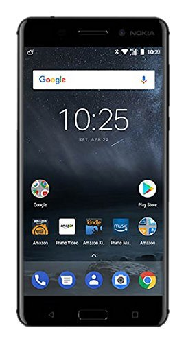 "Nokia 6 (2017) - Prime Exclusive - 32 GB - Unlocked Smartphone (AT&T/T-Mobile) - 5.5"" Screen - Black"