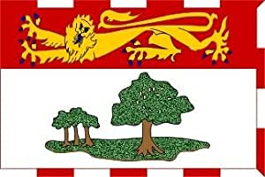 prince edward island flag coloring page - canada prince edward islands province flag