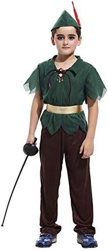 WSJDE Disfraces de Cazador Príncipe del Bosque Disfraz de ...