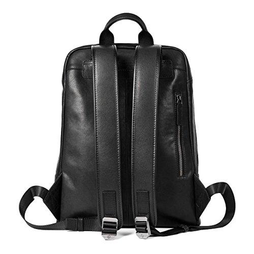 404ab9c7af9 Sharkborough District 12th Men s Backpack Genuine Leather for Casual  Daypacks