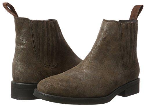 Braun Damen Brown KMB Chelsea Dark Matilda Boots AawwdxITq
