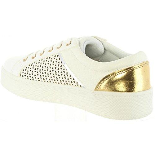 85616 Sportif JEANS 06 LOIS Femme pour Blanco qBAw5xn7