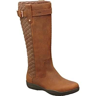 Columbia Women's Lisa Waterproof Tobacco/Cordovan Boot 5 B (M)