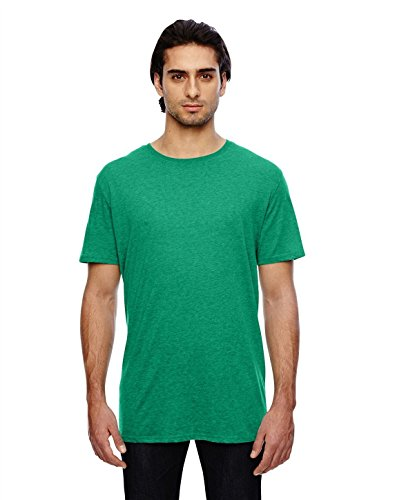 Anvil Adult Featherweight T-Shirt, Heather Green, Small