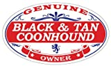 Black and Tan Coonhound Black And Tan Coonhound Oval Sticker