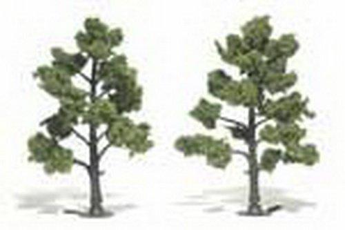 Woodland Scenics Light Green Ready Made Trees 5