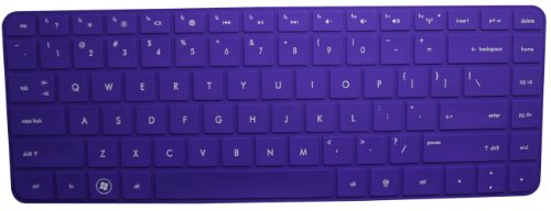 Pavilion Keyboard Protector Layout Purple