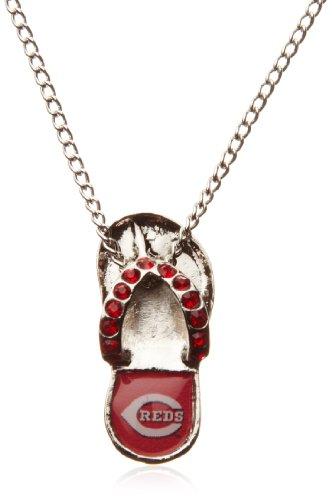 Cincinnati Reds Mlb Crystal (MLB Cincinnati Reds Crystal Flip Flop)