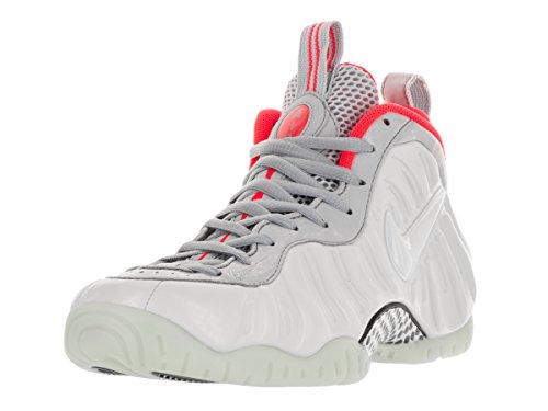 Nike Men's Air Foamposite Pro Prm Pr Pltnm/Pr Pltnm/Wlf G...
