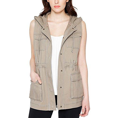 Womens Clothing : Vests Khaki - 7