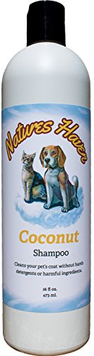Natures Haven Coconut Dog and Cat Shampoo 16 oz