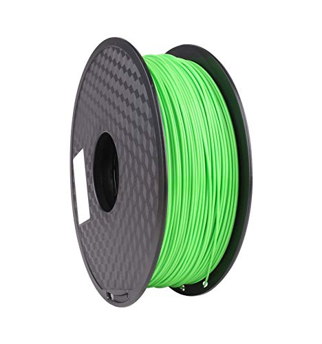 3D Printer PLA Filament - PLA Filament Recyclable - PLA Filament Biodegradable - PLA Filament No Heated Bed Required - Dimensional Accuracy ±0.05mm - 1.75mm - 1kg (2.2 lbs) Spool - Lime Green