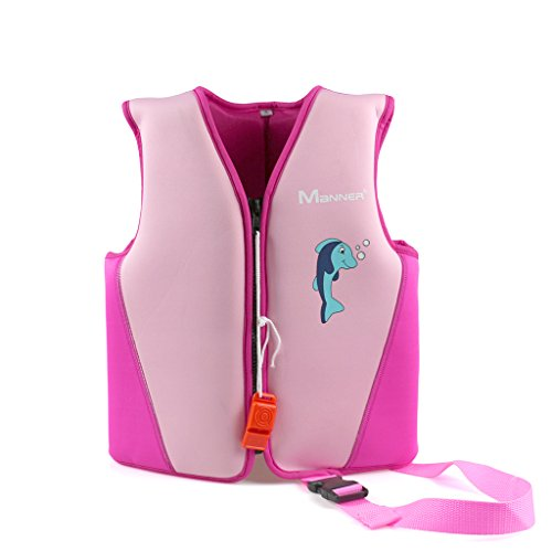 Child Neoprene Vest (Kids Swim Vest Float Swimsuit - Boys Girls Children Neoprene Buoyancy Jacket)