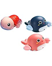 Baby bath boy girl shower room turtle dolphin splashing small toy 12PCS Mix colors
