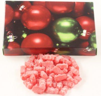 Scott's Cakes Unbearabley HOT Cinnamon Bears in a 1 Pound Ornament Box