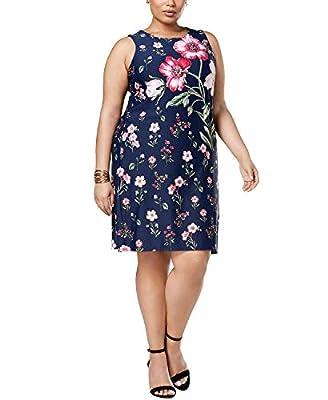 Charter Club Plus Size Floral-Print Sheath Dress