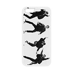 iPhone 6 Plus 5.5 Inch Cell Phone Case White The Beatles 003 Basic Cell Phone Carrying Cases LV_6043441