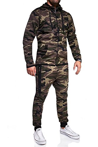 Survêtement Jogging shirt R Ensemble 7039 De Kaki Sweat Sport Mt Styles Pantalon w8q0Y6ZT