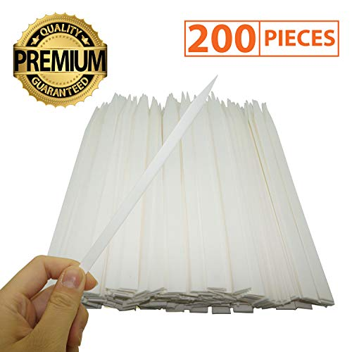IFAMIO Premium 200 Pcs Perfume Test Sharp Paper Strips for Essential Oil Scent Fragrance Tester Strips for Aromatherapy (Fragrance Testing Strips)
