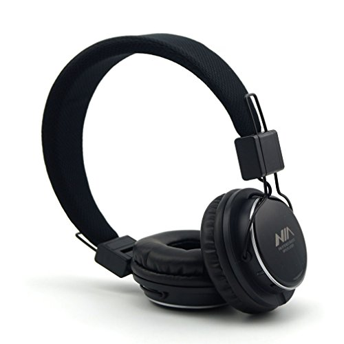 GranVela A809 Lightweight Foldable Stereo Headphones Adjusta