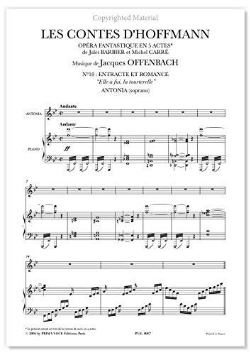 Offenbach, Jacques • CONTES D'HOFFMANN (LES) •