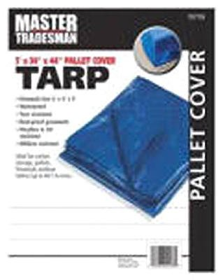 (Jms Industries Mt 5X4x4 Blu Tarp Cover Mt Blue Pallet C Tarp Private Label)