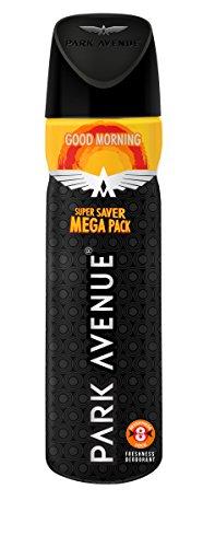 Park Avenue Good Morning Body Deodorant Super Saver Mega Pack for Men, 167gm