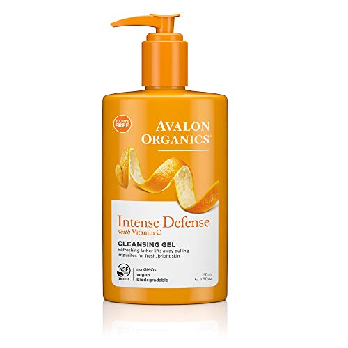 Avalon Organics Intense Defense Cleansing Gel, 8.5 oz.