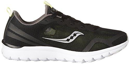 Feel Citron Running Saucony Liteform Black Shoes Grey Men's q78E0w6