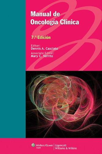 Descargar Libro Manual De Oncología Clínica Casciato