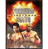 DVD: Firepower: Manny Pacquiao VS Miguel Cotto. November 14, 2009. MGM Grand Arena, Las Vegas NV USA