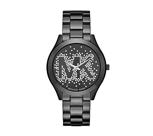 Michael Kors Slim Runway IP Three-Hand Watch