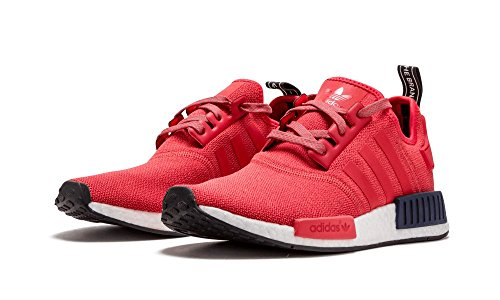 17d76ab7c5a57 Womens Adidas NMD Runner Athletic Shoe (Women 8, Red/Black/White ...