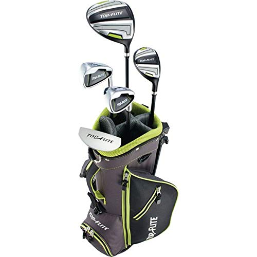 New 2019 Top-Flite Junior Boys Golf Complete Set for Ages 5-8 Years Old - Height 46-52'' (Left) (Best Golf Gear 2019)