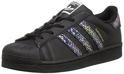 adidas Originals Superstar, Boys' Trainers Cblack,cblack,cblack
