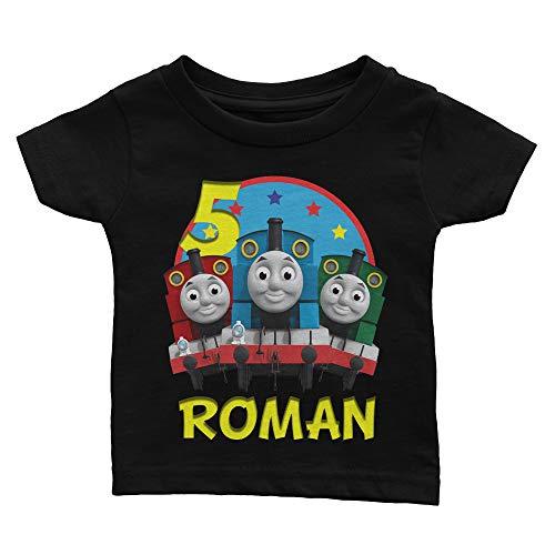 Personalize Thomas The Train Birthday Shirt